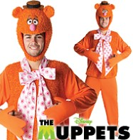 The Muppets Fozzy - Adult Costume Fancy Dress