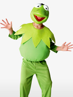 The Muppets Kermit - Child Costume Fancy Dress