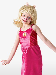 The Muppets Miss Piggy - Child Costume Fancy Dress