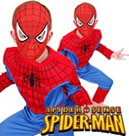Spiderman Deluxe - Child Costume Fancy Dress
