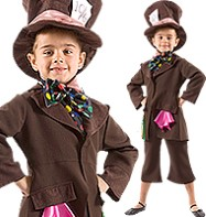 Mad Hatter - Child Costume Fancy Dress