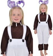Oompa Loompa - Child Costume Fancy Dress