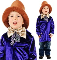 Willy Wonka - Child Costume Fancy Dress