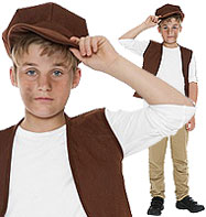 Victorian Urchin Set - Child Costume Fancy Dress