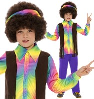 Hippie Aroma - Child Costume Fancy Dress