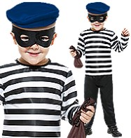 Little Burglar - Child Costume Fancy Dress
