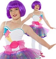 Mini Candy Girl - Child Costume Fancy Dress