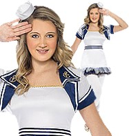 Miss Sailor - Teen Costume Fancy Dress