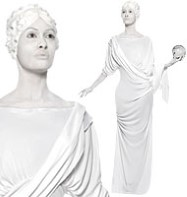 Roman Female Statue - Adult Costume Fancy Dress
