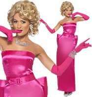 80's Diamond Diva - Adult Costume Fancy Dress