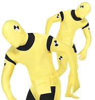 Crash Test Dummy Bodysuit - Adult Costume Fancy Dress
