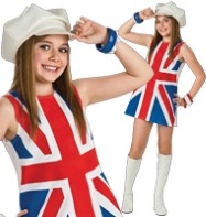 British Invasion - Child Costume Fancy Dress