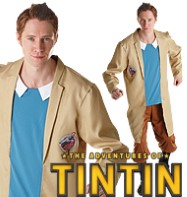Tintin - Adult Costume Fancy Dress