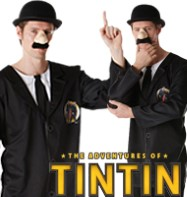 Tintin Thompson Twins - Adult Costume Fancy Dress