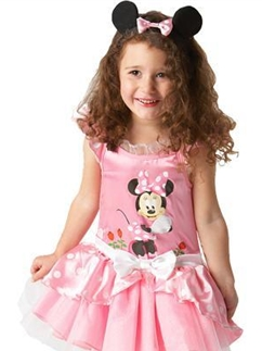 Minnie Mouse Pink Ballerina - Baby Costume Fancy Dress