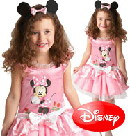 Minnie Mouse Pink Ballerina - Child Costume Fancy Dress