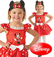 Minnie Mouse Red Ballerina - Child Costume Fancy Dress