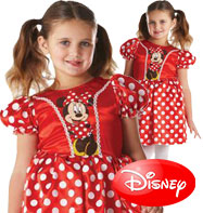 Minnie Mouse Red Classic - Child Costume Fancy Dress