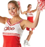 Glee Cheerleader - Adult Costume Fancy Dress