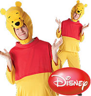 Winnie the Pooh - Adult Costume Fancy Dress