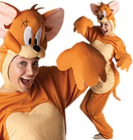 Jerry Mouse - Adult Costume Fancy Dress