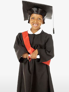 Graduation Gown - Child Costume