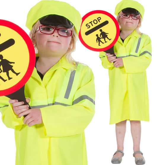 Lollipop Lady - Child Costume Fancy Dress