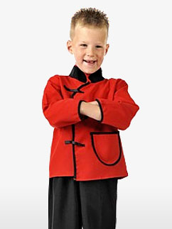 Oriental Suit - Child Costume Fancy Dress