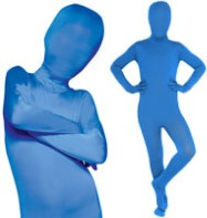 Morphsuit Blue - Child Costume Fancy Dress