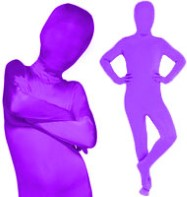 Morphsuit Purple - Child Costume Fancy Dress