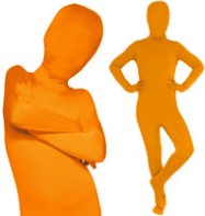 Morphsuit Orange - Child Costume Fancy Dress