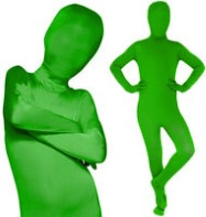 Morphsuit Green - Child Costume Fancy Dress