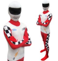 Morphsuit Racer - Child Costume Fancy Dress
