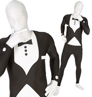 Morphsuit Tuxedo - Child Costume Fancy Dress