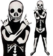 Morphsuit Skeleton - Child Costume Fancy Dress