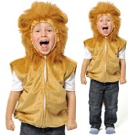 Lion Tabard - Child Costume  Fancy Dress