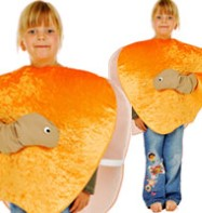 Peach Tabard - Child Costume Fancy Dress