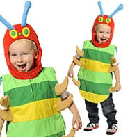 Happy Caterpillar Tabard - Child Costume Fancy Dress