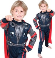 Thor Deluxe - Child Costume Fancy Dress