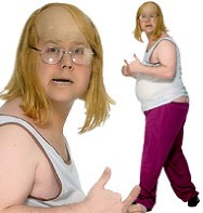 Little Britain Andy - Adult Costume Fancy Dress