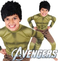 Hulk Classic - Child Costume Fancy Dress