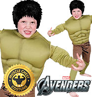 Hulk Premium - Child Costume Fancy Dress