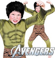 Hulk Deluxe - Child Costume Fancy Dress