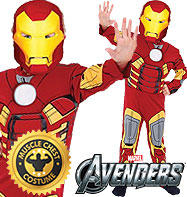 Iron Man Premium - Child Costume Fancy Dress
