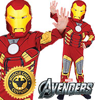 Iron Man Deluxe - Child Costume Fancy Dress