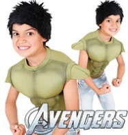 Hulk Dress-Up Set - Child Costume Fancy Dress