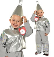 Tin Robot Man - Child Costume Fancy Dress