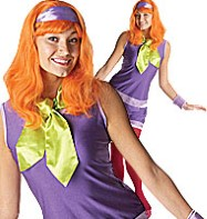 Scooby Doo's Daphne - Adult Costume Fancy Dress