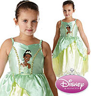 Princess Tiana Classic - Child Costume Fancy Dress