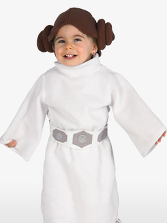 Princess Leia - Toddler Costume Fancy Dress